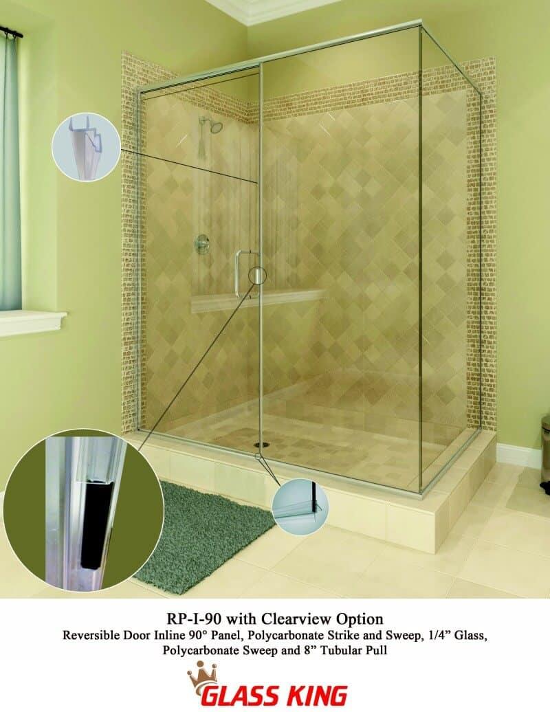 Shower glass repair shower glass installation chandler az rp i 90clearview vtopaller Images