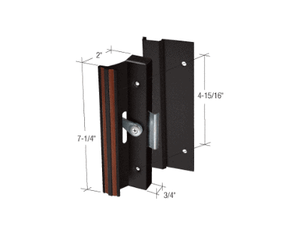 Clamp Style Surface Mount Handle 4 15 16 Quot Screw Holes